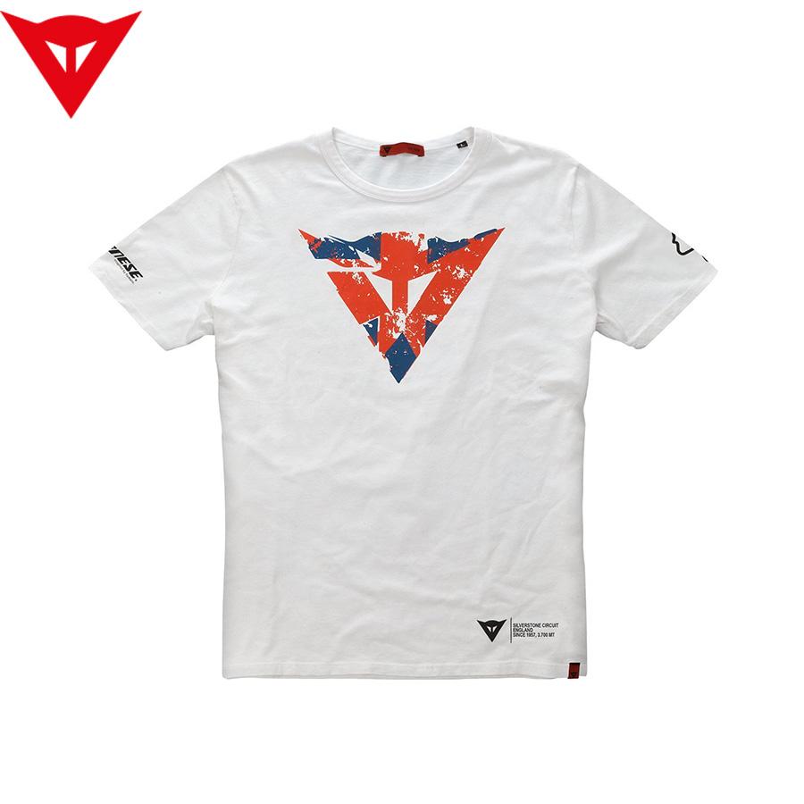 Мъжка тениска DAINESE FLAG SILVERSTONE